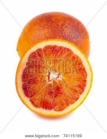 Bloody Red Oranges Fruits