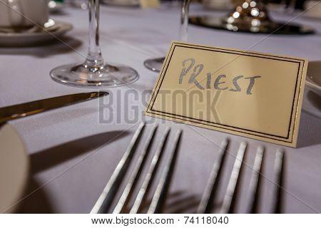 Priest seat