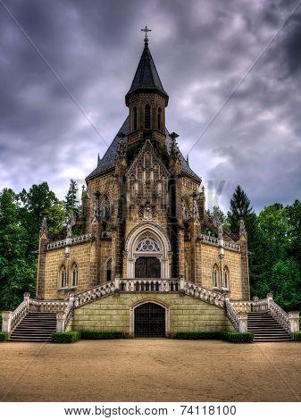 Schwarzenberg Historical Tomb In Domanin, South Czech