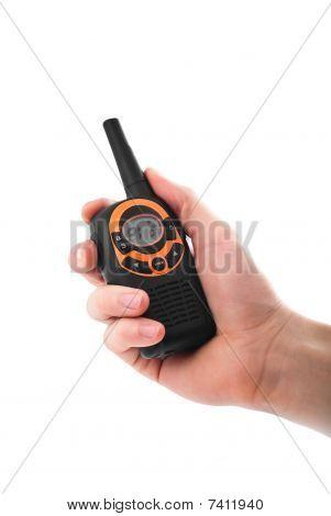 Walkie-talkie In Hand