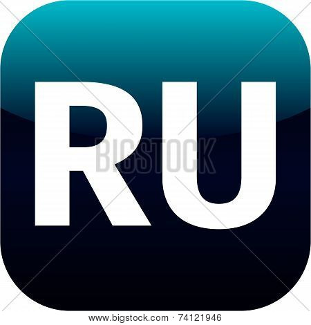 Ru Domain Icon - Russia
