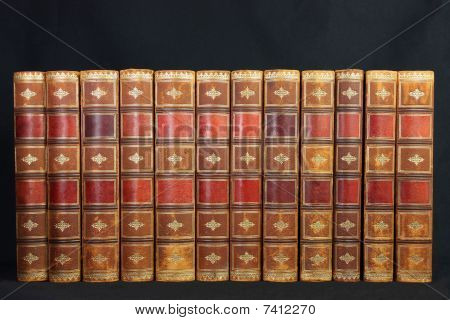 Antique Leather Books