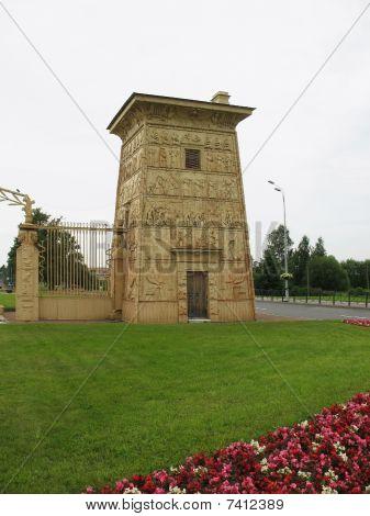 Egyptian gate in Pushkin (Tsarskoe Selo)