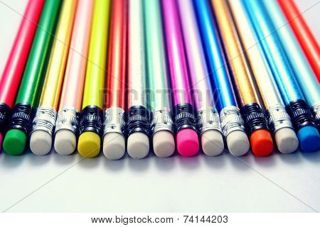 Colorful Pencil Eraser