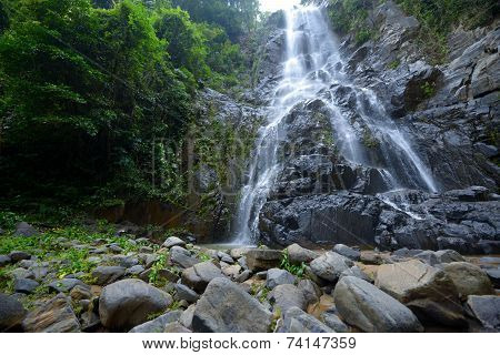 Sunanta Waterfall Is Beautiful Waterfall Thailand