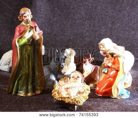 Holy Family In The Tradition Of Christmas