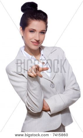 Portrait Of Business Woman