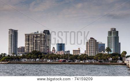 St. Petersburg skyline, Florida