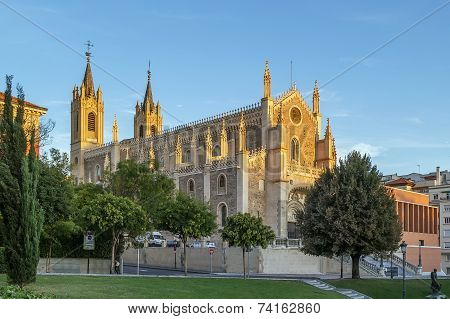 San Jeronimo El Real, Madrid