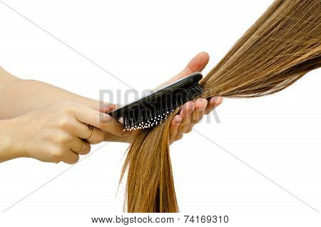 To Comb Long Hair