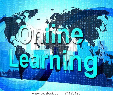 Online Learning Means World Wide Web And College