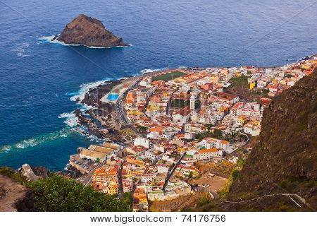 Garachico in Tenerife island - Canary Spain