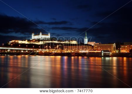 Bratislava embankment - Slovakia Capitol