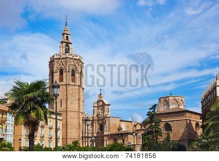 View Plaza de la Reina - Valencia Spain