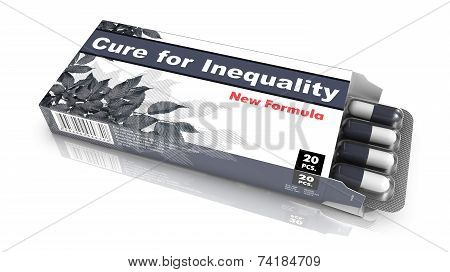 Cure for Inequality - Blister Pack Tablets.