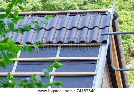 Construction Of A Roof,