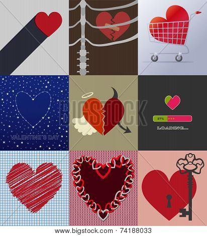 Set 9 Background Love