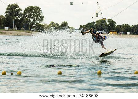 Wakeboarder Zagreb Jarun