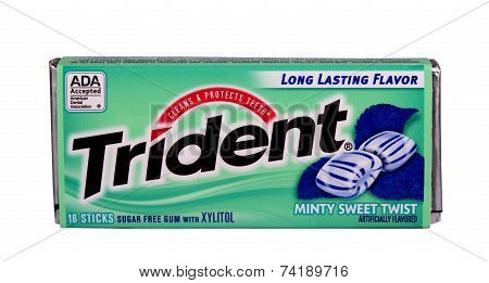 Trident Mint Chewing Gum