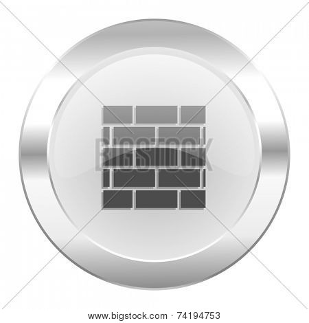 firewall chrome web icon isolated