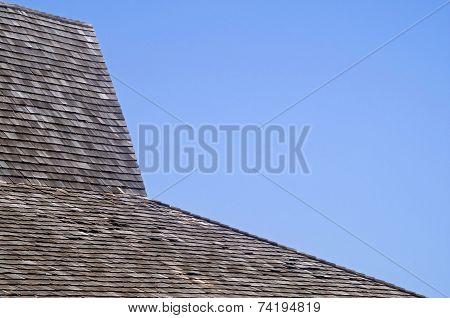 Wood Tile Roof