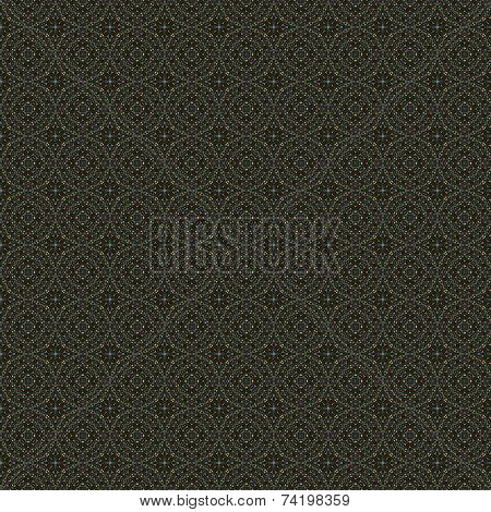 Abstract dark seamless mosaic pattern
