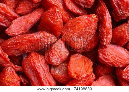 Background Of Goji Berries