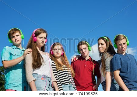 Six Serious Teenagers