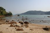 stock photo of lantau island  - One of the beaches on Lantau island in Hong Kong - JPG