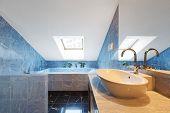 stock photo of penthouse  - Beautiful modern penthouse - JPG