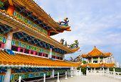 picture of budha  - Thean Hou Temple in Kuala Lumpur Malaysia - JPG