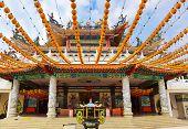 stock photo of budha  - Thean Hou Temple in Kuala Lumpur Malaysia - JPG