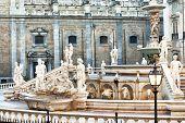 picture of shame  - Palermo Piazza Pretoria also known as the Square of Shame Piazza della vergogna  - JPG