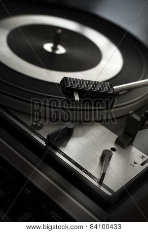 Old Retro Record Player