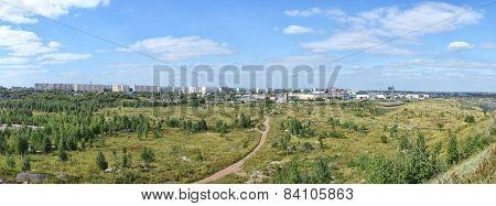 outskirts Kopeysk
