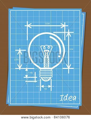 Blueprint of idea