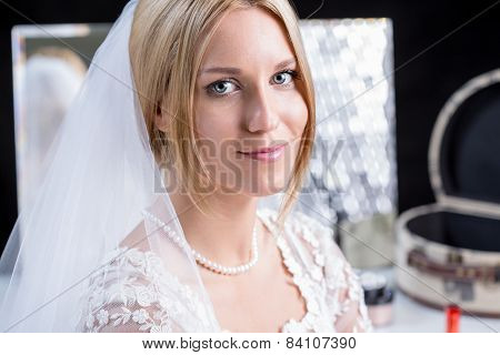 Bride Ready For The Wedding