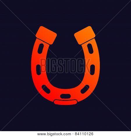 Horseshoes background