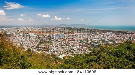 Panoramic view of Vung Tau, Southern Vietnam