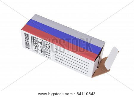 Concept Of Export - Product Of Russia