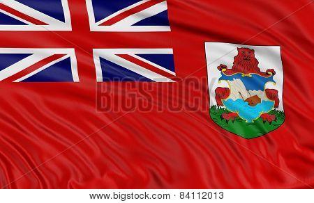 3D Bermuda Flag