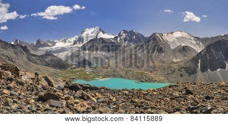 Lake In Kyrgyzstan