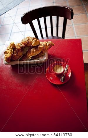 Coffee In A Bistro
