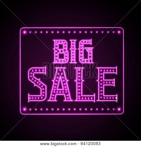 Neon Sign Big Sale