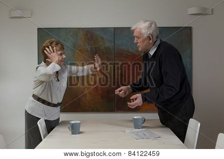 Argument At The Table