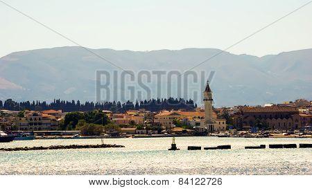 Sea View Zakynthos (zante) Town, Greece.