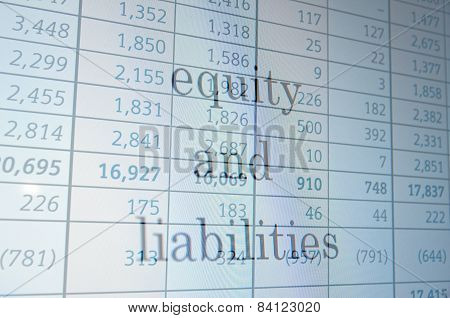 Equity and liabilities