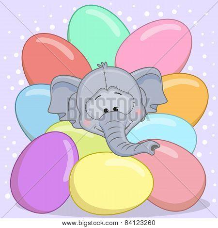 Elephant With Eggs