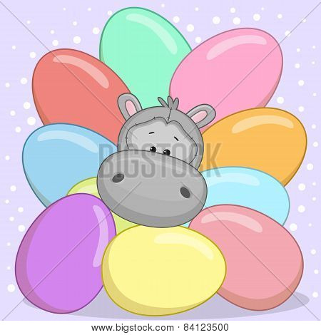 Hippo With Eggs