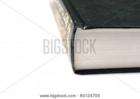 Big green book.